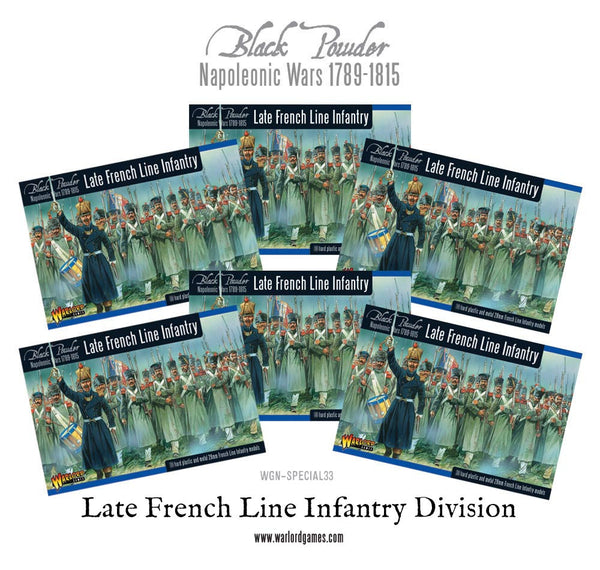 Napoleonic Late French Line Infantry (1812-1815) Division