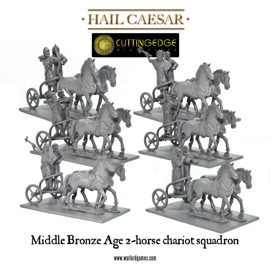 middle bronze age 2 horse chariot squadron warlord games. Black Bedroom Furniture Sets. Home Design Ideas