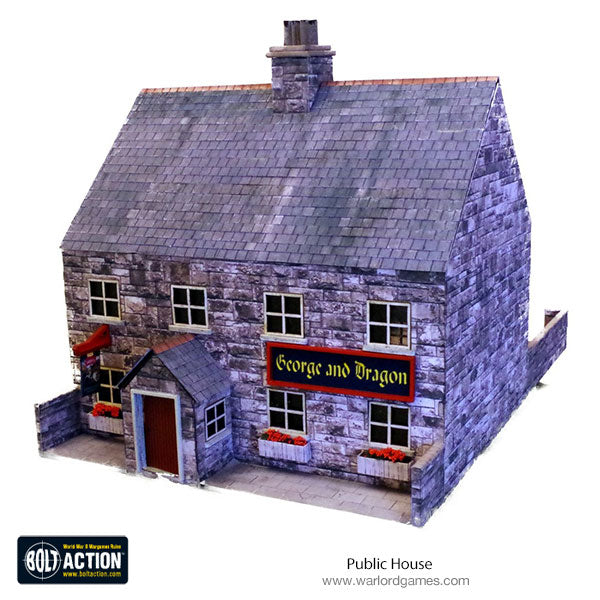 Public House 28mm (Brick) Photo-Realistic Kit