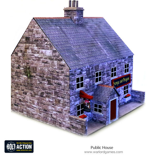 Public House 28mm (Stone) Photo-Realistic Kit