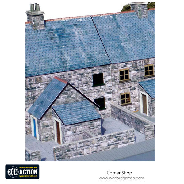 Corner Shop 28mm (Brick) Photo-Realistic Kit