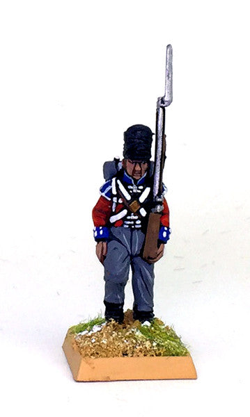 Waterloo British Line Infantry 36 Fig Painted Set
