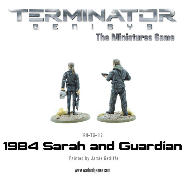 1984 Sarah and Guardian (metal)