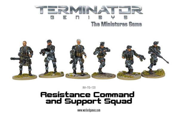 Resistance Command and Support Squad