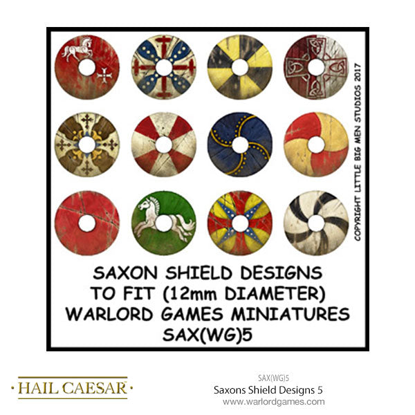 Saxons Shield Designs 5