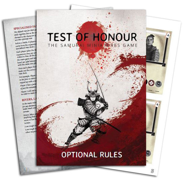 Test of Honour PDF Optional Rules French