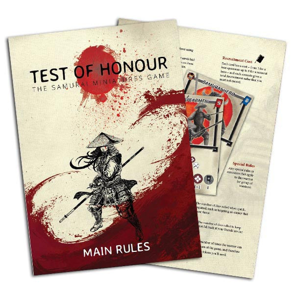 Test of Honour PDF Rulebook
