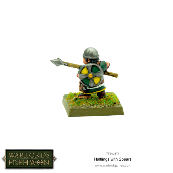Halfling with Spears