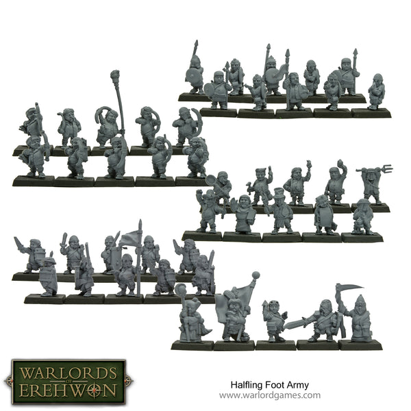 Halfling Foot Army