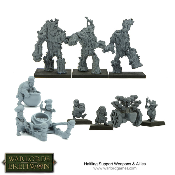 Halfling Support Weapons & Allies