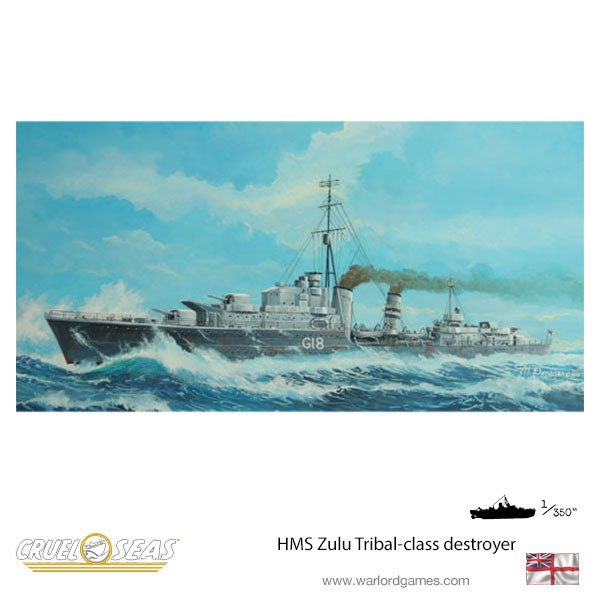 HMS Zulu Tribal-class destroyer
