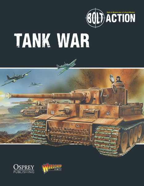 Tank War - Bolt Action supplement French