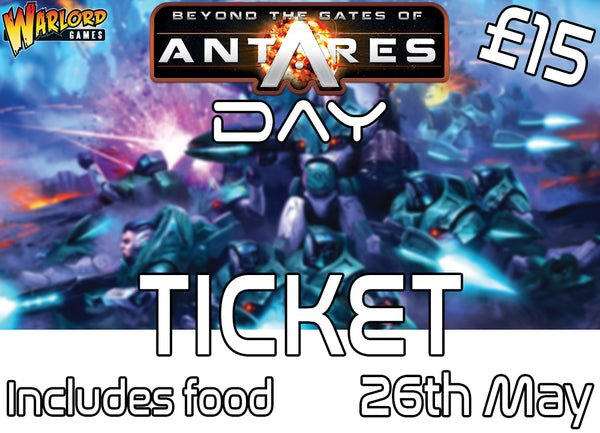 Antares Day Ticket 26th May 2018