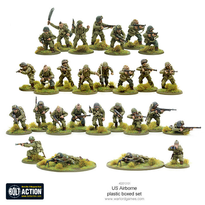 Bolt Action Warlord Games 28mm British Airborne WWII Allied Paratroopers