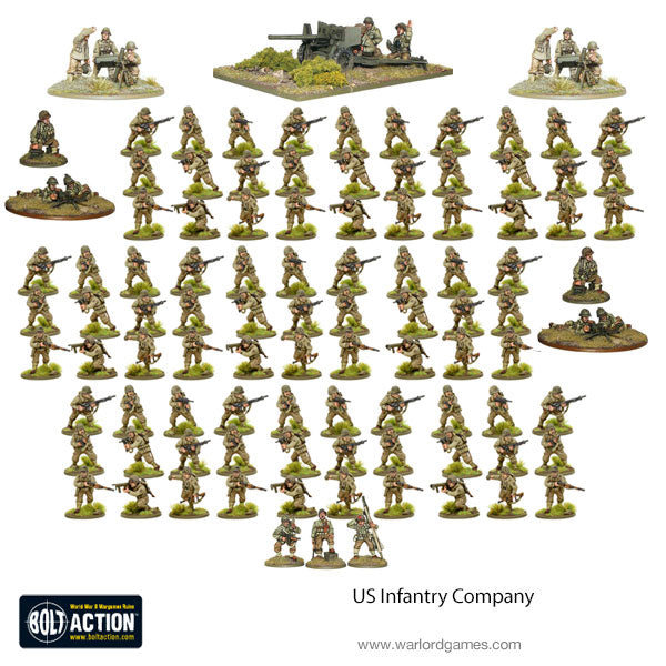 US Infantry Company