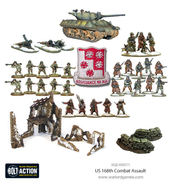 US 168th Combat Assault