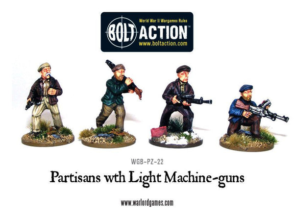 Partisans with Light Machine Guns