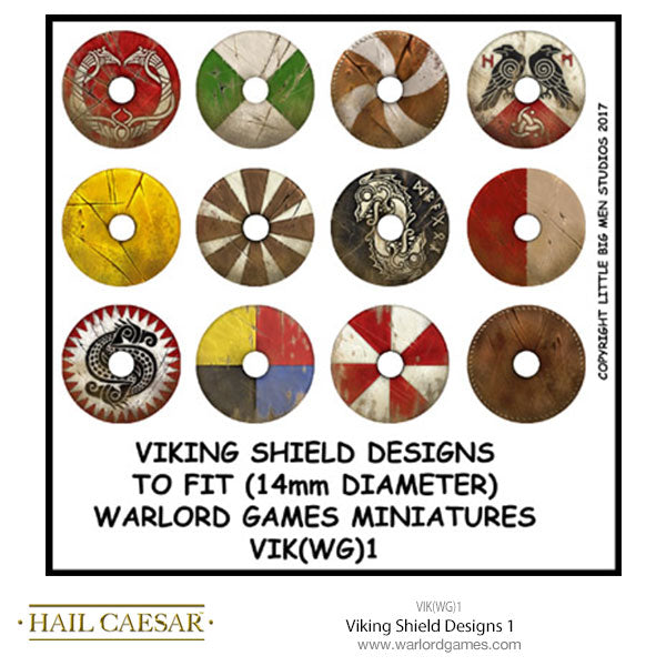 Viking Shield Designs 1