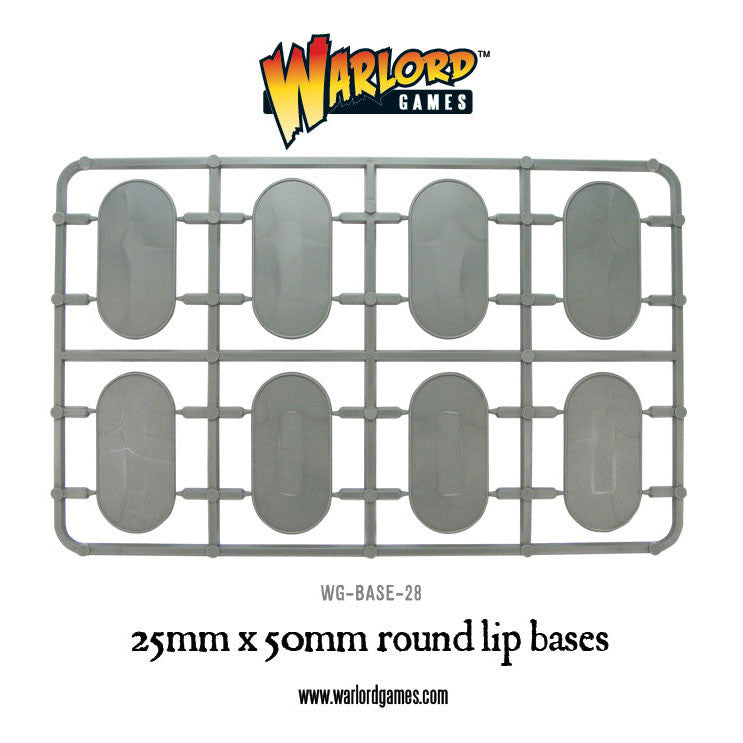 recherche plus socle Warlords games WG-BASE-28-25x50-round-bases-a