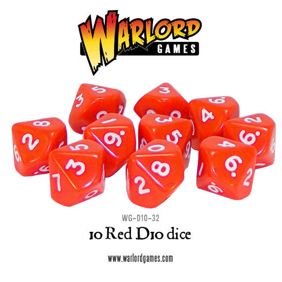 10 Red D10