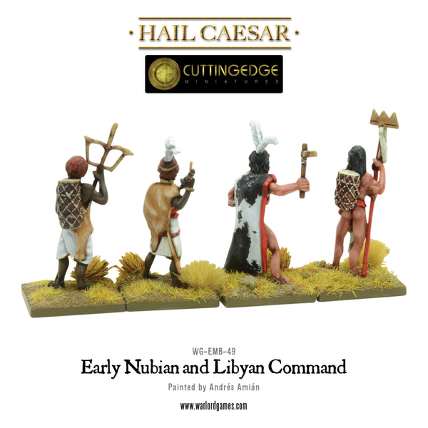 Early Nubian and Libyan command