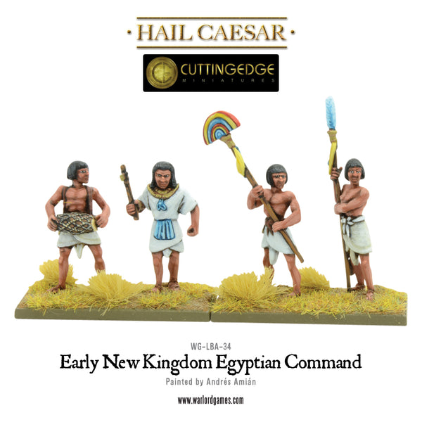 Early New Kingdom Egyptian Command