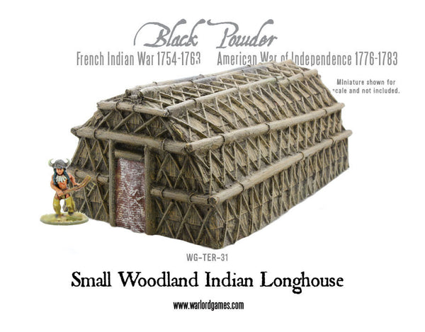 Small Woodland Indian Longhouse