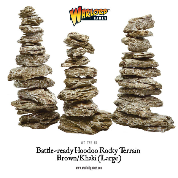 WG-TER-54 Large Brown Hoodoos