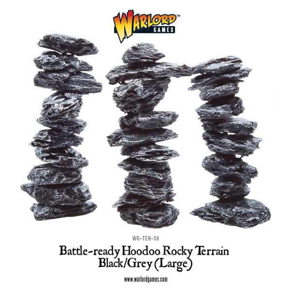 WG-TER-56 Large Black Hoodoos