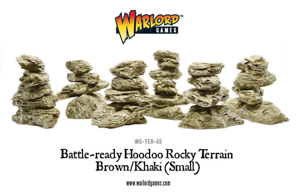 WG-TER-65 Small Brown Hoodoos