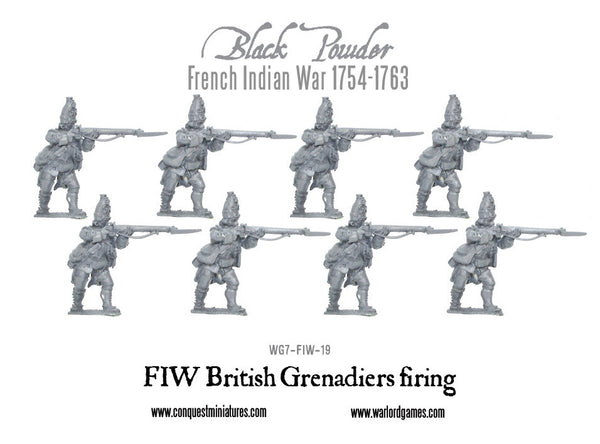 FIW British Grenadiers firing