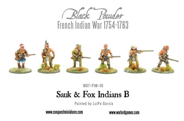 Sauk & Fox Indians B