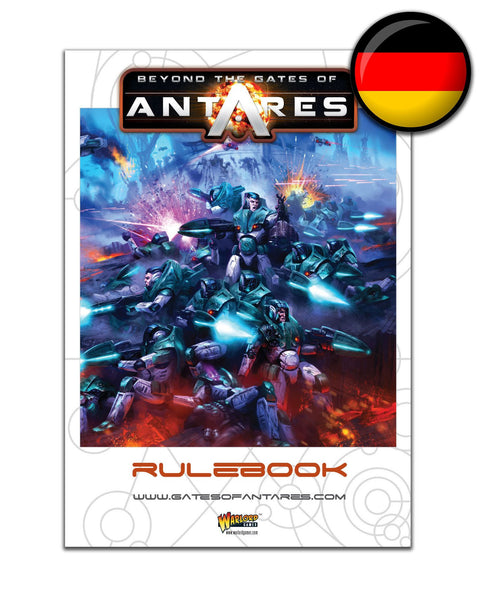 German Beyond the Gates of Antares Rule Book