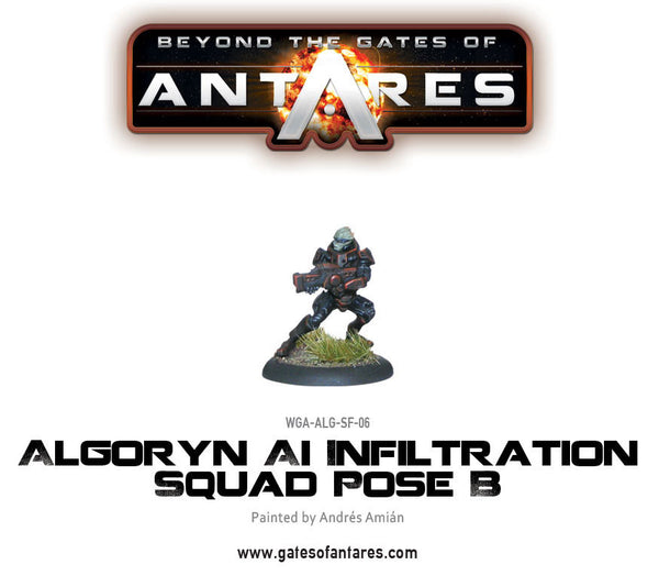 Algoryn Infiltration Squad Pose B