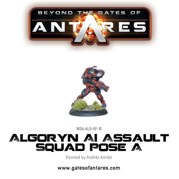 Algoryn Assault Squad Pose A