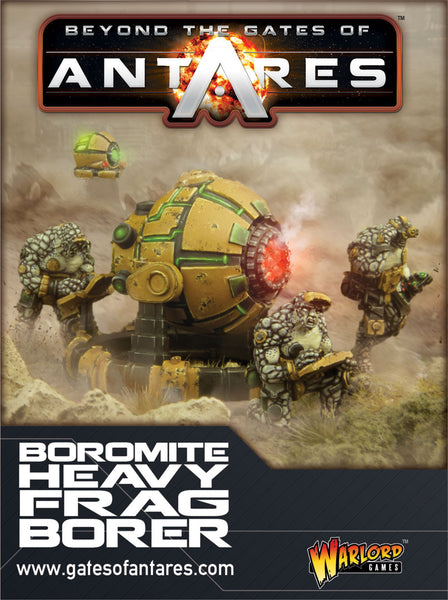 Boromite team with Heavy Frag Borer