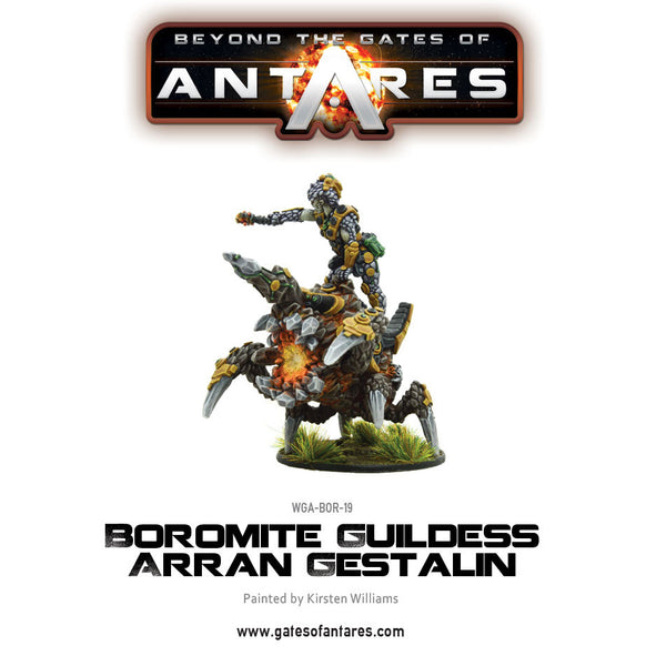 Boromite Guildess Arran Gestalin