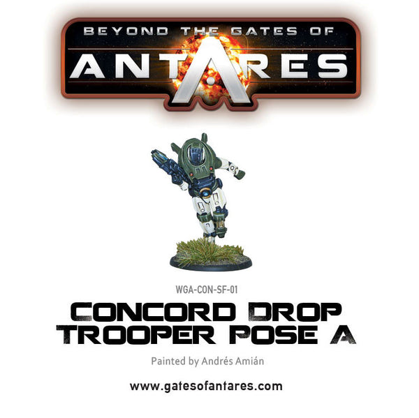 Concord Drop Trooper Pose A