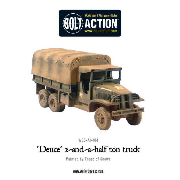 Half Ton Truck >> Deuce 2 And A Half Ton Truck Warlord Games