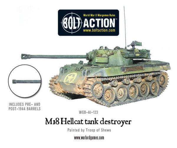 M18 Hellcat tank destroyer