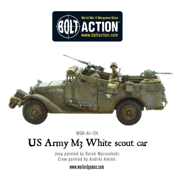 US Army M3 White scout car