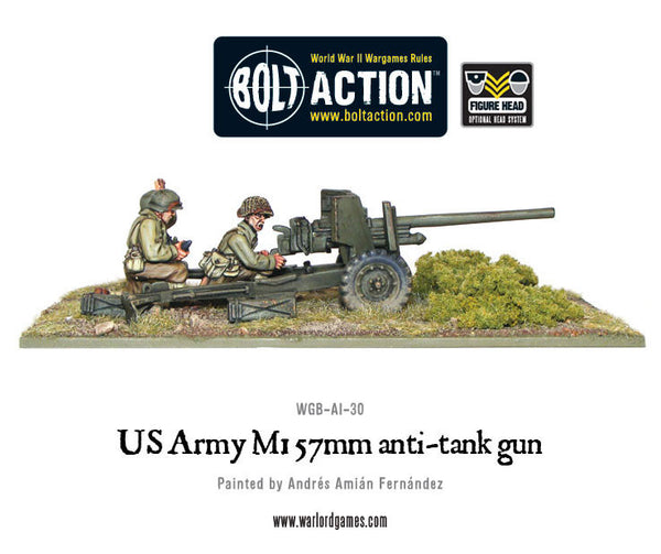 US Army M1 57mm anti-tank gun