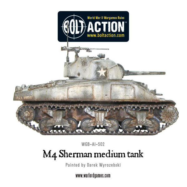 M4 Sherman medium tank (plastic)