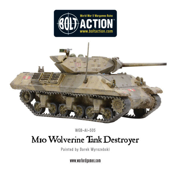 M10 Tank Destroyer/Wolverine (Plastic Box)