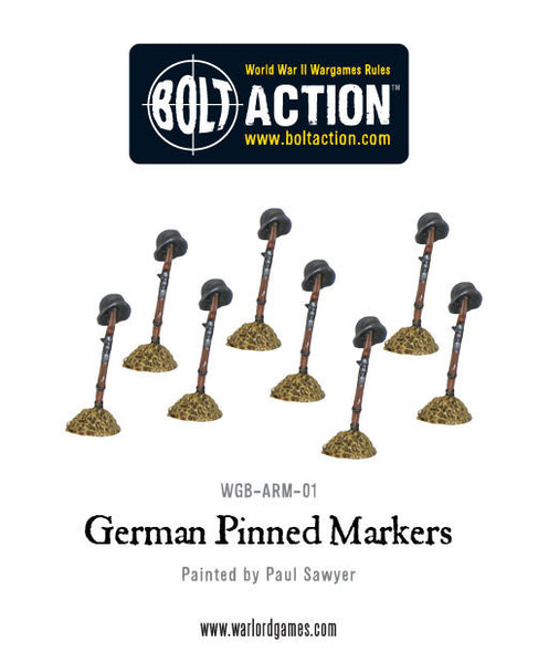 German Pinned Markers