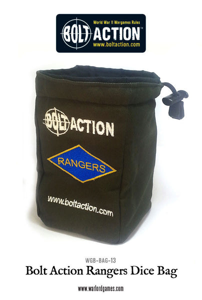 Bolt Action Rangers Dice Bag & Dice
