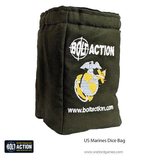 US Marines Dice Bag