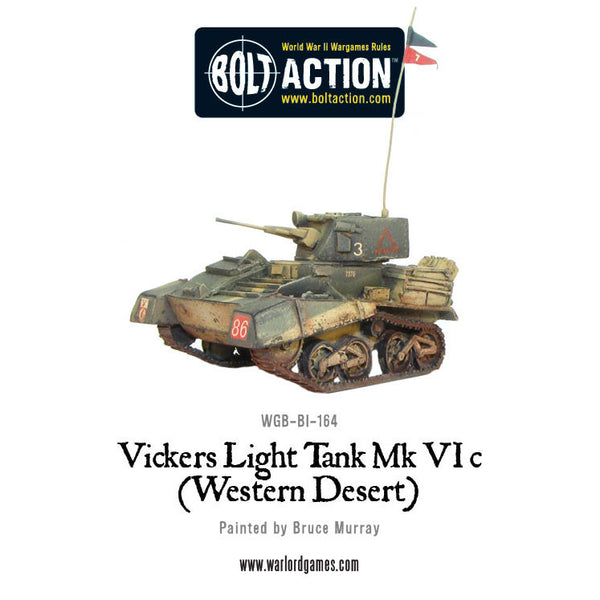 Vickers Light Tank Mk VIC (Western Desert)