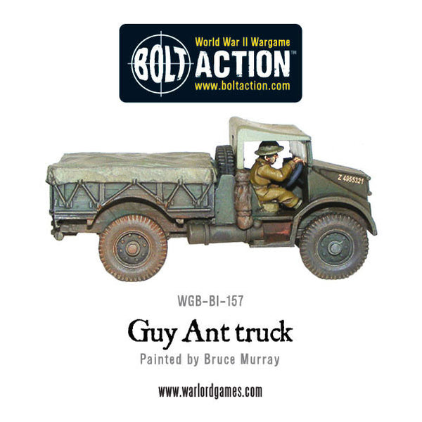 18/25pdr Gun Limber and Guy Ant truck tow (BEF)