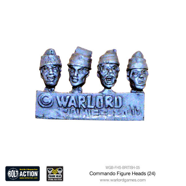 Commando Figure Heads (24)